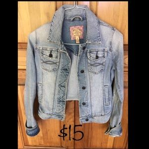 Denim Jacket- Abercrombie & Fitch